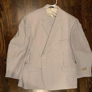 Other - Men's Big & Tall seersucker suit